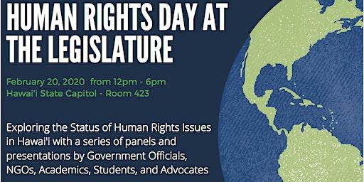 15th Annual Human Rights Day at the Hawai'i State Legislature
