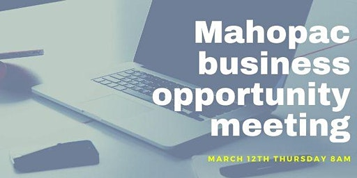 Mahopac Networking Info Meeting 3/12/20