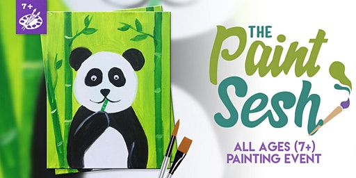 All Ages Paint Night (7+) in Riverside: Hungry Panda