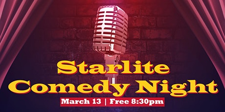 Starlite Comedy Night tickets