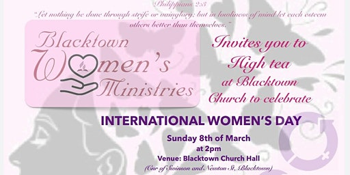 International Women's Day High Tea