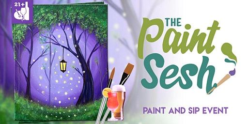 "Paint and Sip in Norco, CA – ""Enchanted Forest"""