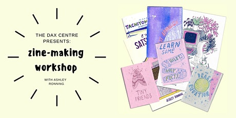From Heart +Mind: Zine-making workshop with Ashley Ronning tickets