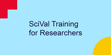 SciVal Training for Researchers tickets
