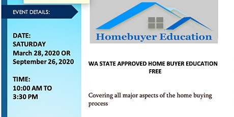 FREE - State Home Buyer Education Training tickets