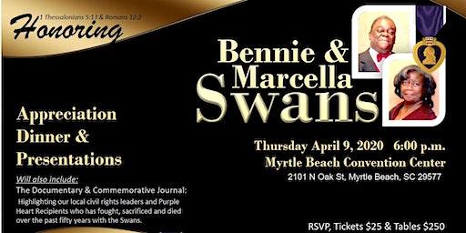 Bennie and Marcella Swans Appreciation Dinner