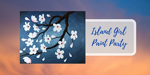 Island Girl Paint Party at Farmstrong Brewery