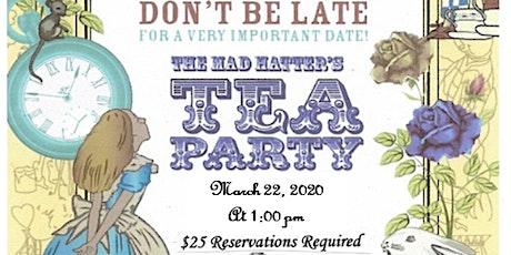 Mad Hatter High Tea tickets