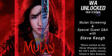 WA Unlocked & Disney's, Mulan, with Special Guest Q&A tickets