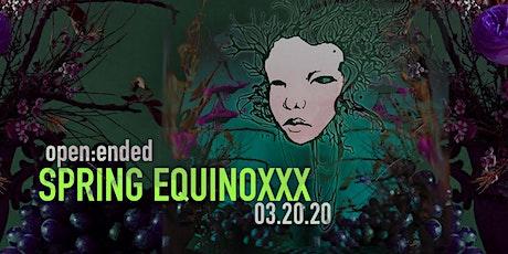 Spring EquinoXXX tickets