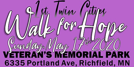 Walk for Hope 2020 - A Mental Health Awareness Fundraising Event tickets