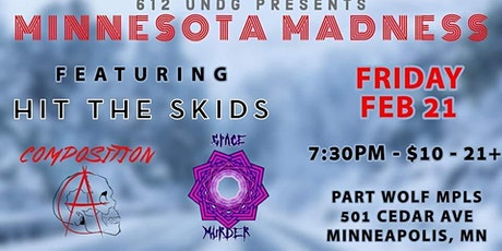 Minnesota Madness: Composition A & Space Murder tickets