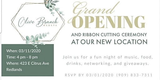 Olive Branch Med Spa Grand Opening and Ribbon Cutting Mixer