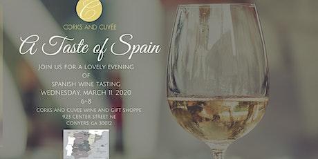A Taste of Spain tickets