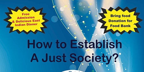 How to Estab;ish A Just Society tickets