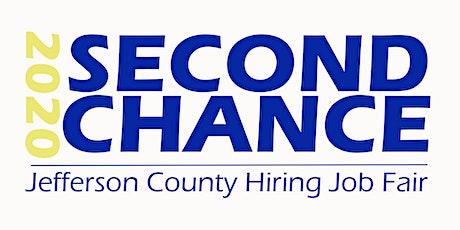 Second Chance 2020 Jefferson County Hiring Job Fair (Job Seekers) tickets
