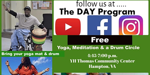 Bring your yoga mat and drum....
