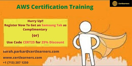 AWS Certification Classroom Training in Dubai,UAE tickets