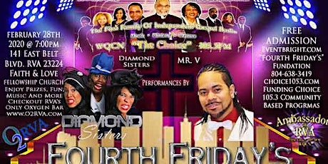 Fourth Friday's (Choice 105.3 FM Concert & Funding)-(Music With A Message) tickets