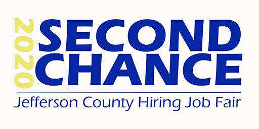 Second Chance 2020 Hiring Job Fair (Volunteers)