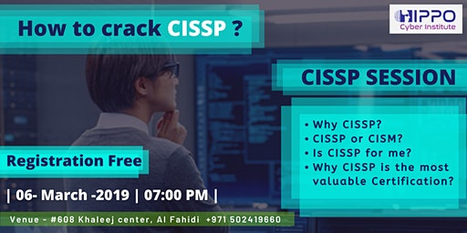 HIPPO CYBER INSTITUTE- How to crack CISSP ?