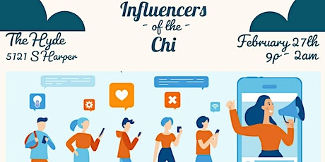 Influencers of the Chi tickets