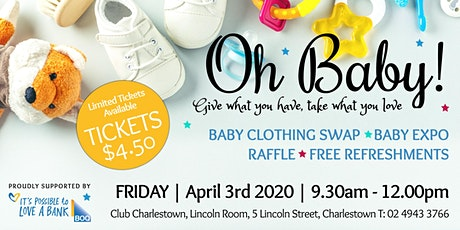 Oh Baby - April 2020 Baby Clothing Swap Event tickets