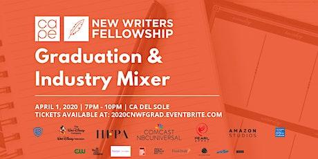 2020 CAPE New Writers Fellowship Graduation & Industry Mixer tickets