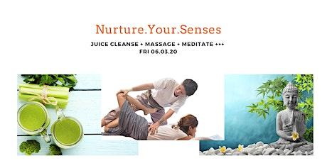 Massage, Meditation and Nurturing session tickets
