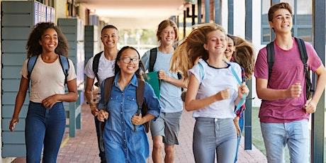 Rencontre parents 5-6-7 interéssés  au secondaire francophone Aiglons tickets