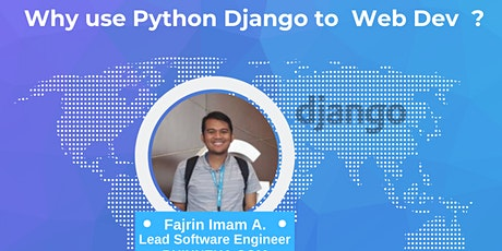DEVELOPER TALKS #16 : Why use Python Django to Web Development ? tickets