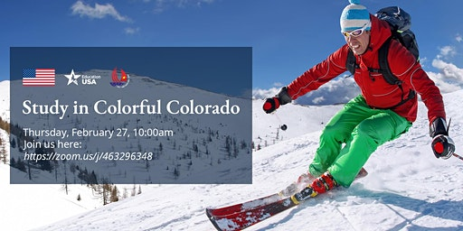 (Online Only) Study in Colorful Colorado
