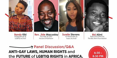 Q&A : ANTI-GAY LAWS, HUMAN RIGHTS and THE FUTURE OF LGBT RIGHTS IN AFRICA tickets