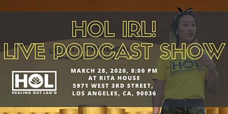 Healing Out Lao'd IRL Live Podcast Show tickets