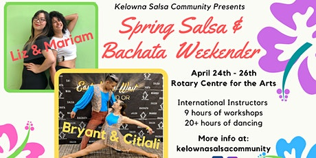 Spring Salsa & Bachata Weekender tickets