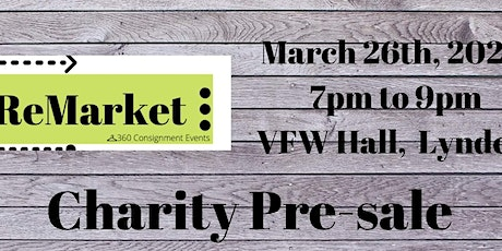 ReMarket Charity Pre-Sale tickets