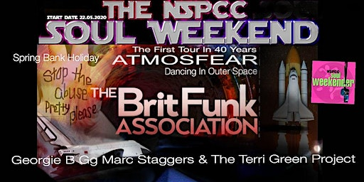 In Aid Of NSPCC - Spring Bank Holiday The NSPCC Soul Weekend Weymouth
