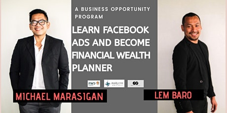 Learn Facebook Ads and Become Financial Wealth Planner tickets