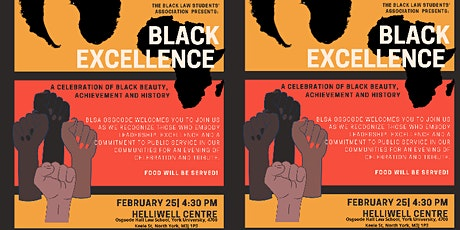 The Osgoode BLSA Black Excellence & Lincoln Alexander Award Ceremony tickets
