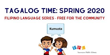 Tagalog Time at VPL: Filipino Language Series tickets