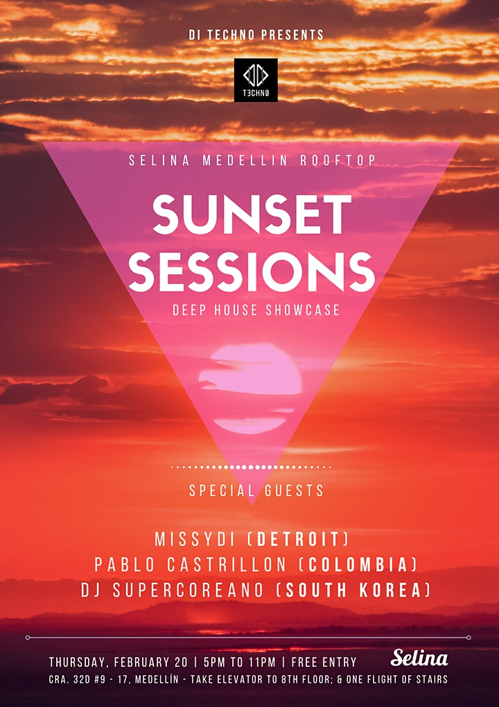 Sunset Sessions - ROOFTOP SERIES / DI Techno Showcase on the Terrace image