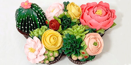 Buttercream Flowers and Succulents tickets