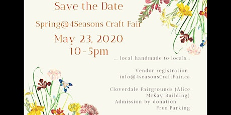 Spring @ Four Seasons Craft Fair tickets