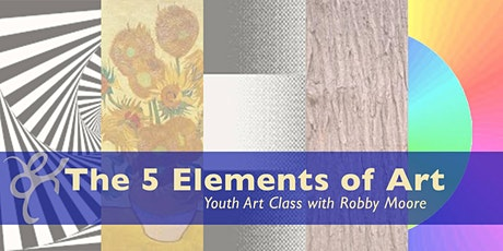 5 Elements of Art | Youth Art Class tickets