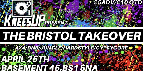 KneesUP Present: The Bristol Takeover tickets