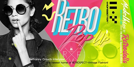 RETRO POP  UP SHOP:  An interactive fashion experience tickets