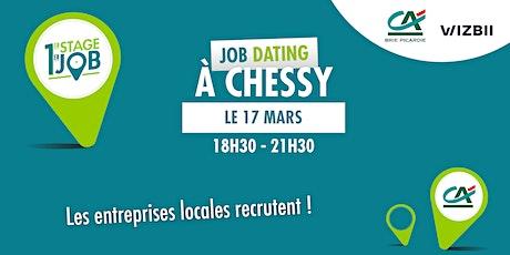 Job Dating Chessy : décrochez un emploi dans votre région billets