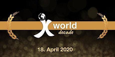 Xworld decade Tickets