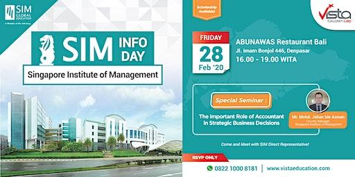Singapore Institute of Management University Info Day - Denpasar
