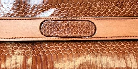 Belt Making - Belt with Exotic Snake Skin Inlay Workshop with Les Williams tickets